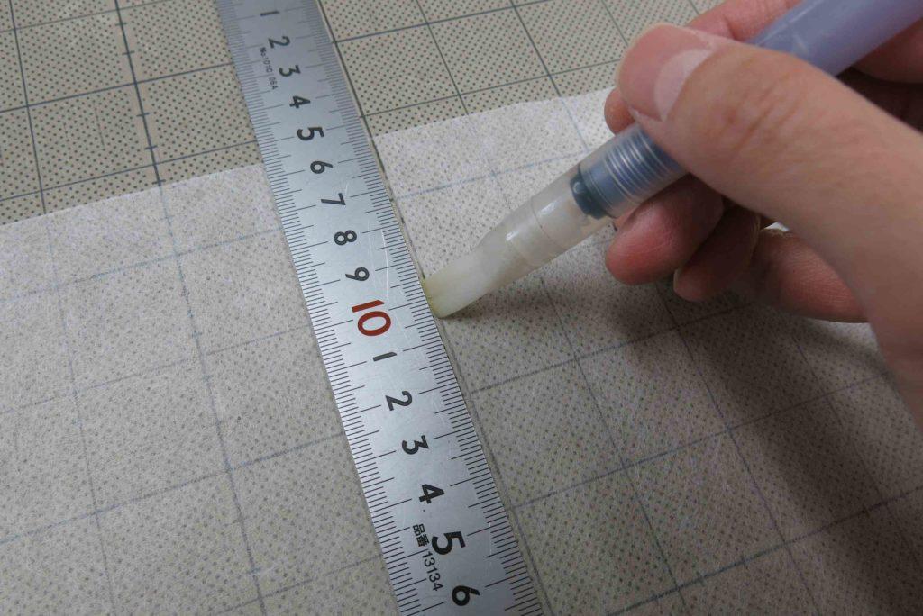 水筆ペンで和紙を喰い裂きに03