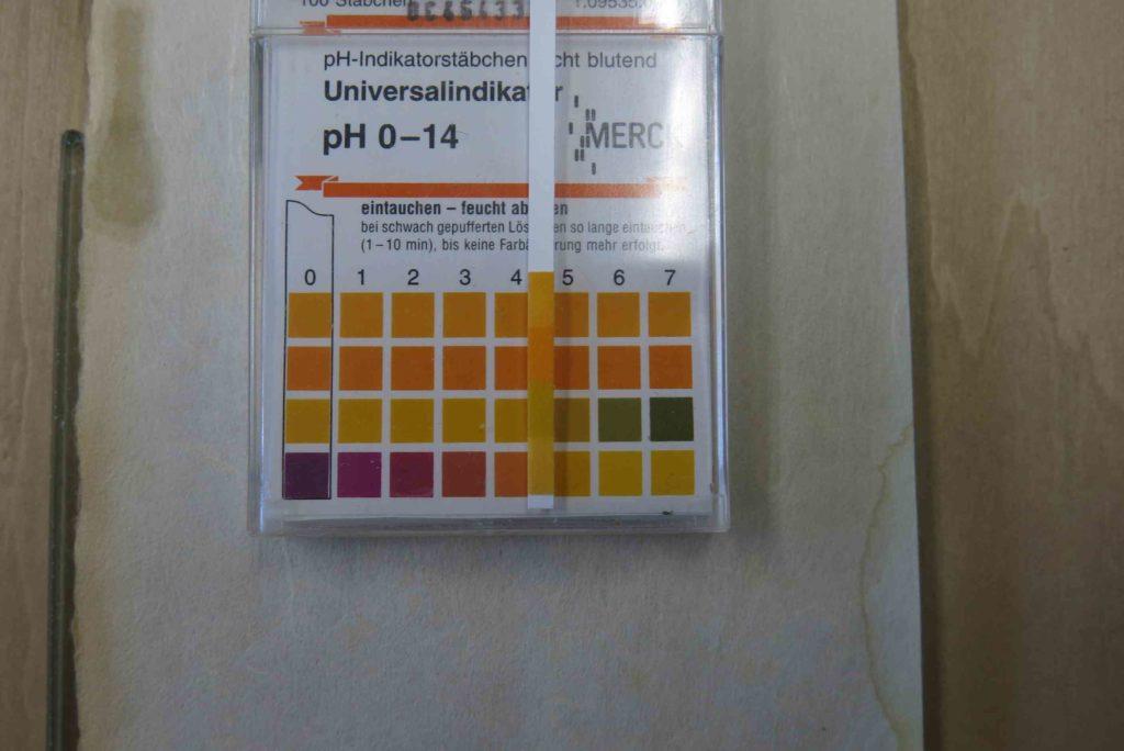 図3 pH測定