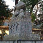 調神社狛兎