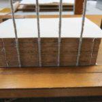 書籍の保存修復処置