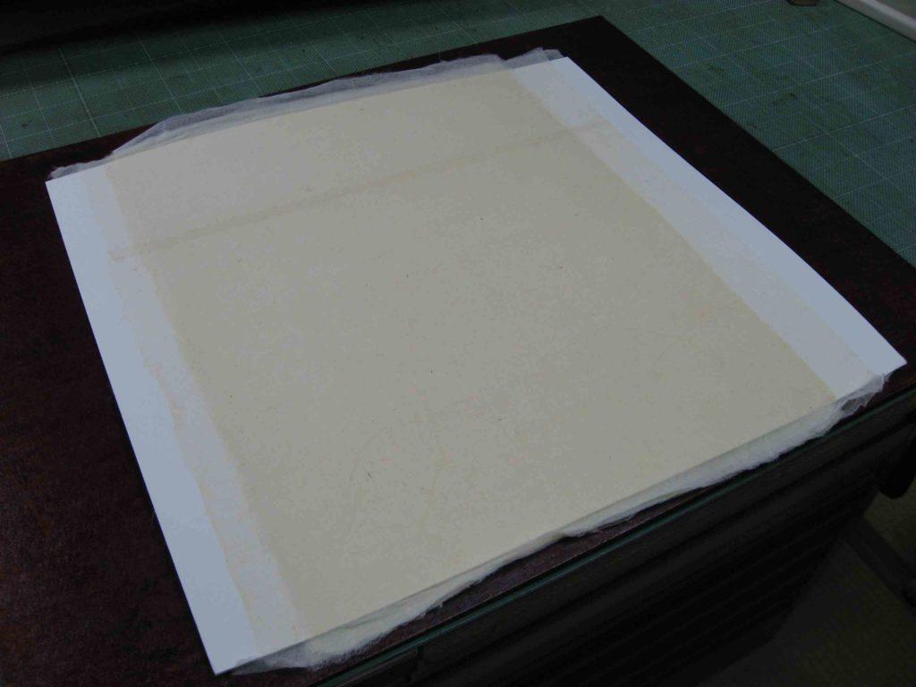 新しい芯紙の作成